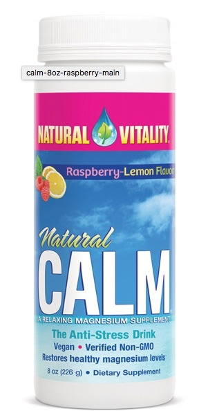 Basic NATURAL CALM (RASP/LEMON) 8OZ (PETER)