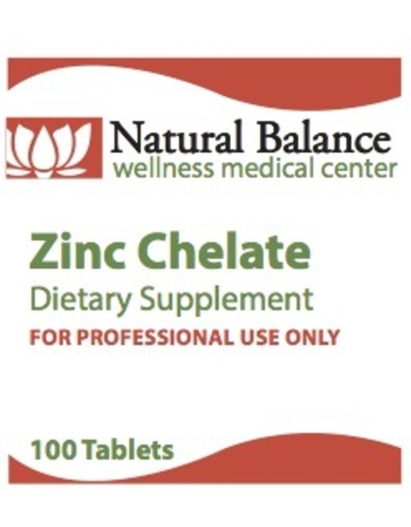 Biomed ZINC CHELATE 100 CT (PROTHERA/KLAIRE)