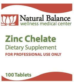 Biomed ZINC CHELATE 100 CT (PROTHERA/KLAIRE)