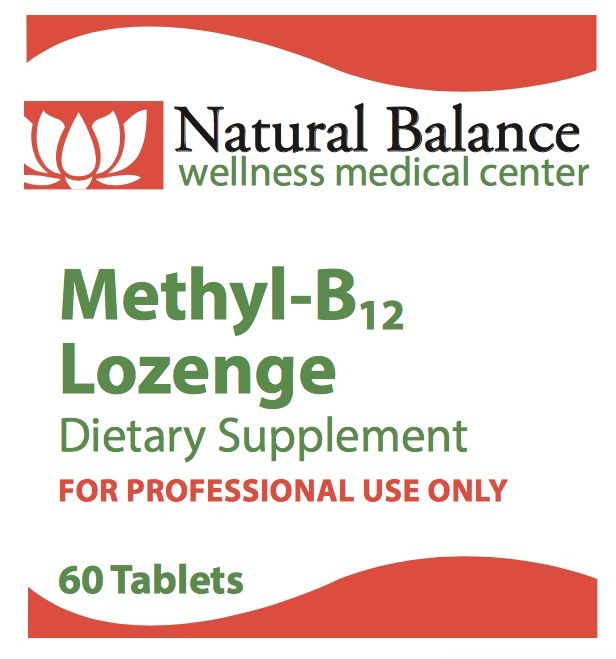 Biomed METHYL-B12 LOZENGE 60CT (PROTHERA/KLAIRE)