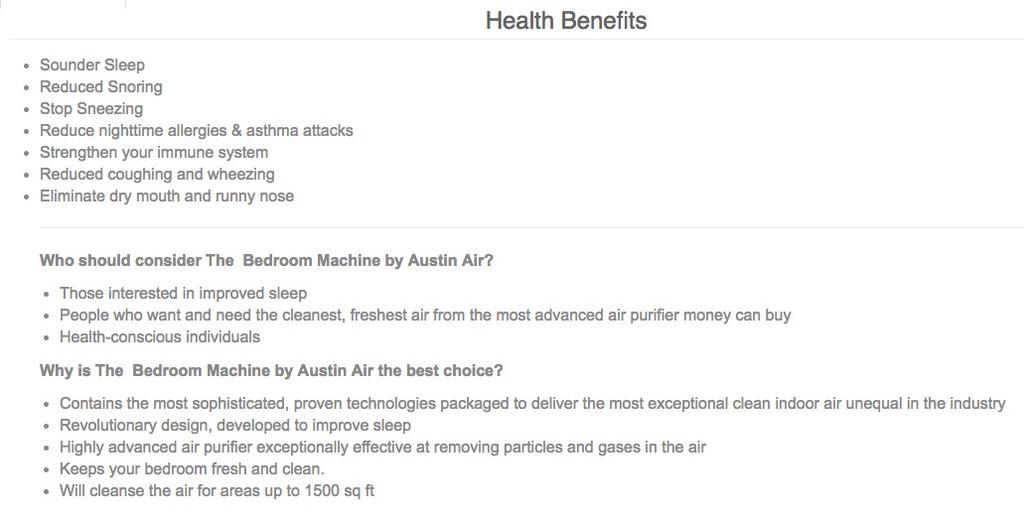 AUSTIN-AIR Austin Air-Bedroom (standard)