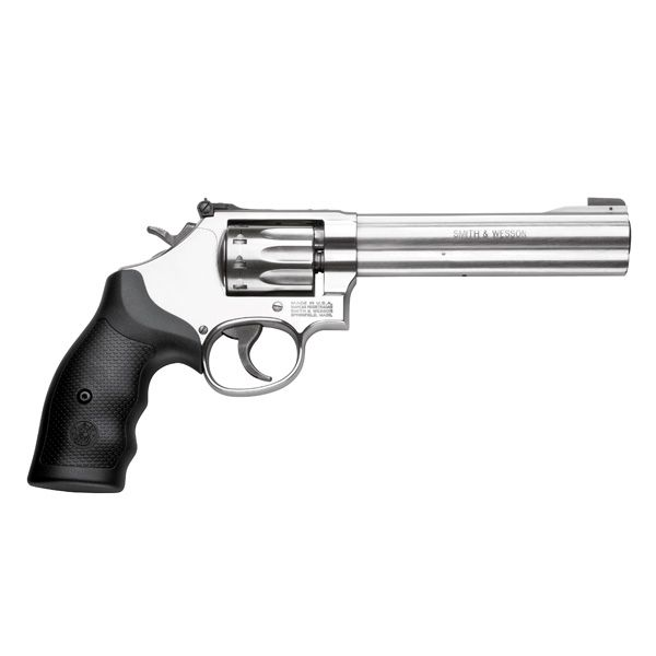 """Smith & Wesson S&W M617 22LR 6"""" Stainless"""