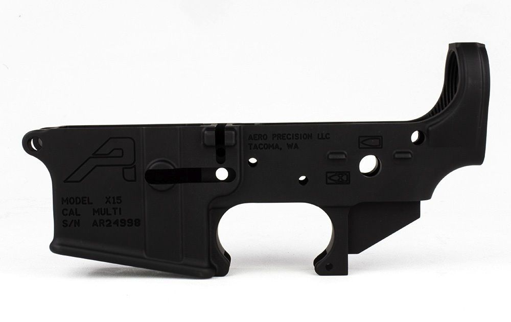 Aero AR15 Stripped Lower Receiver Gen 2, Aero Precision