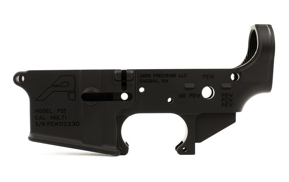 Aero Aero AR15 Stripped Lower: PEW Edition
