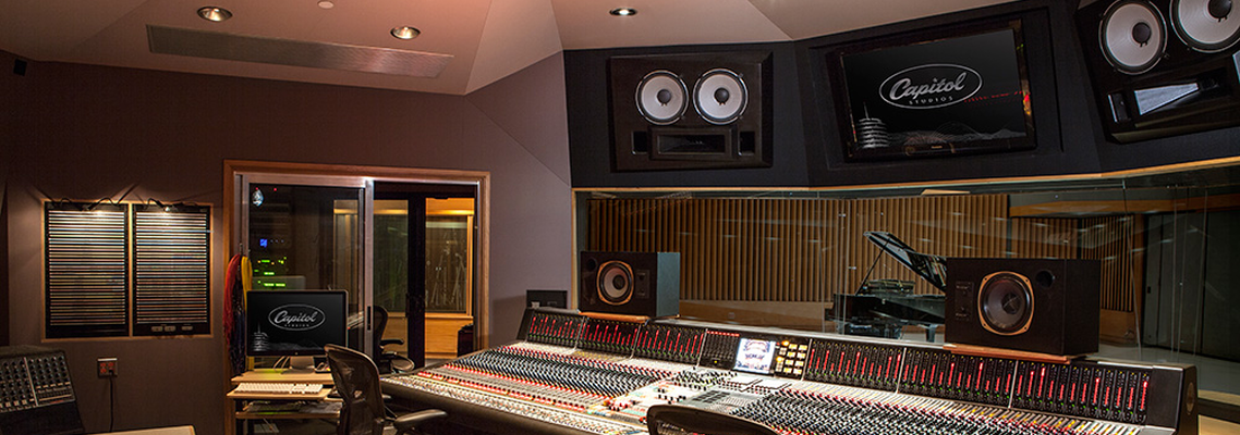 Capitol Records Room A Recording Studio