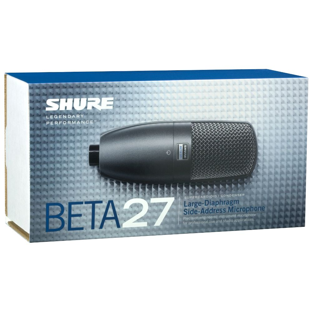 Shure Shure BETA 27 Supercardioid Instrument Microphone