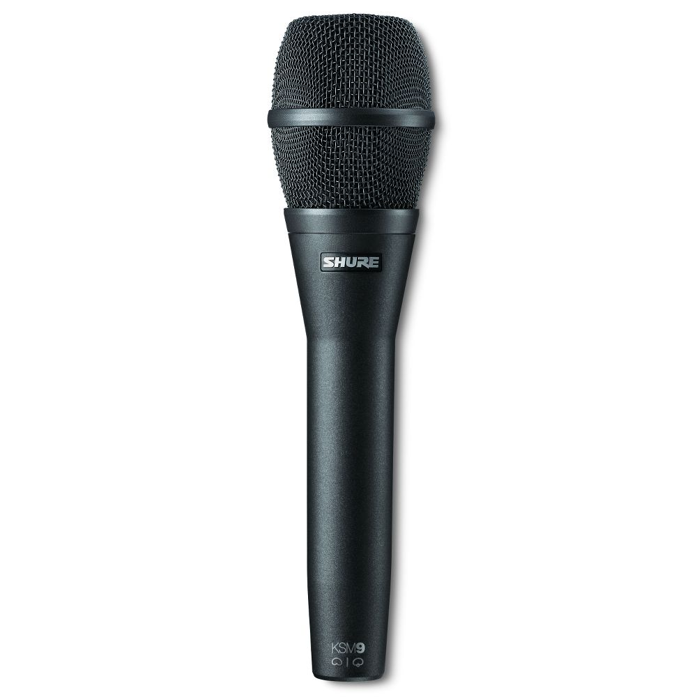 Shure Shure KSM9/CG Dual-Pattern Vocal Microphone - Charcoal