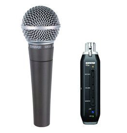 Shure Shure SM58+X2u USB Digital Microphone Bundle