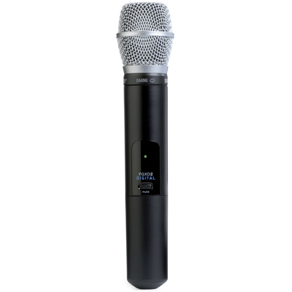 Shure Shure PGXD2/SM86 Handheld Wireless Microphone Transmitter