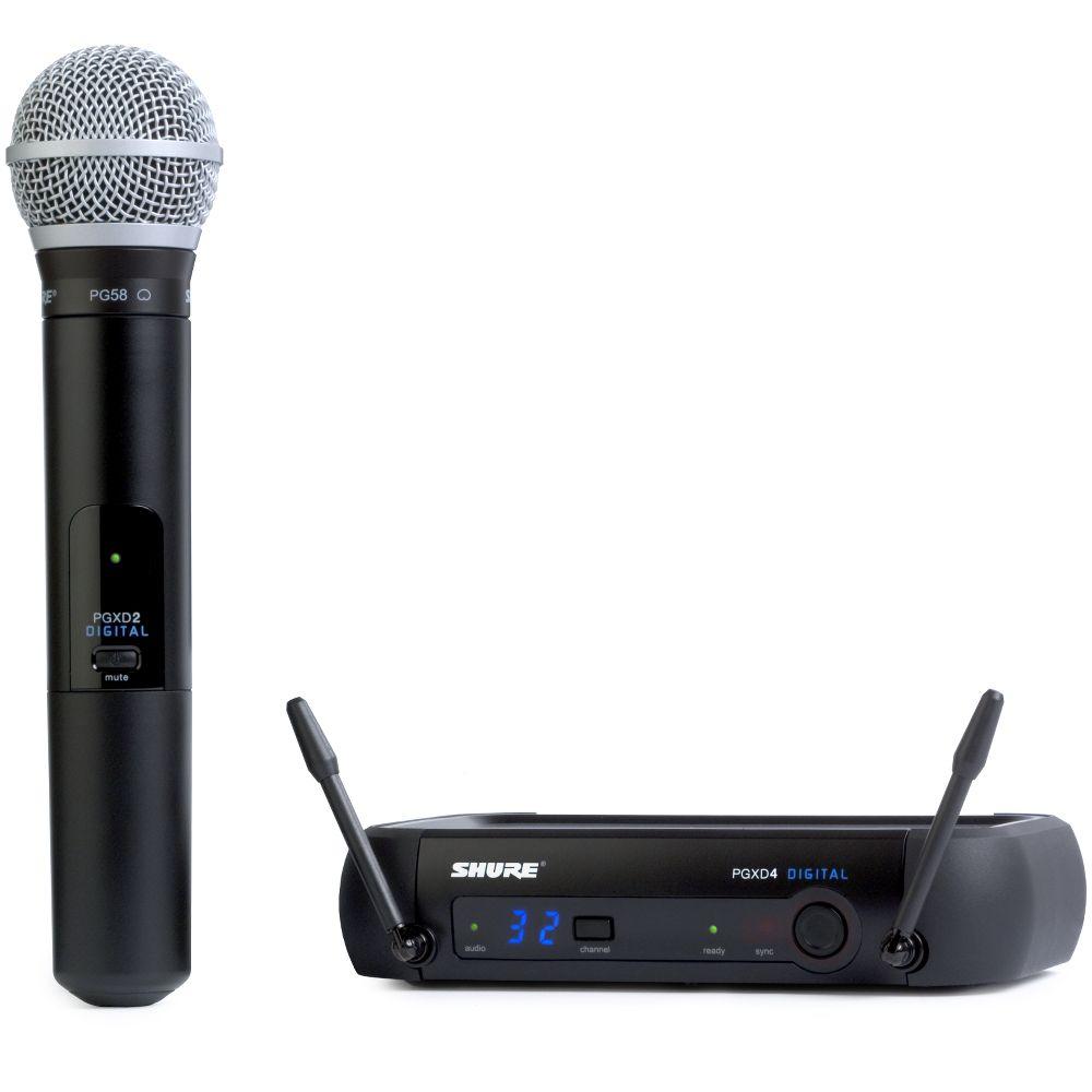 Shure Shure PGXD24/PG58 Handheld Wireless System