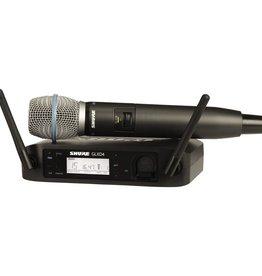 Shure Shure GLXD24/BETA58A Handheld Wireless System<br /> GLXD24/B58A