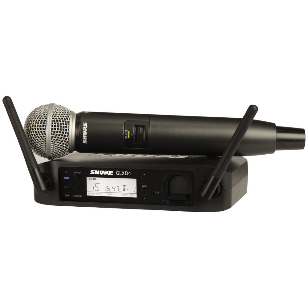 Shure Shure GLXD24/B87A Handheld Wireless System