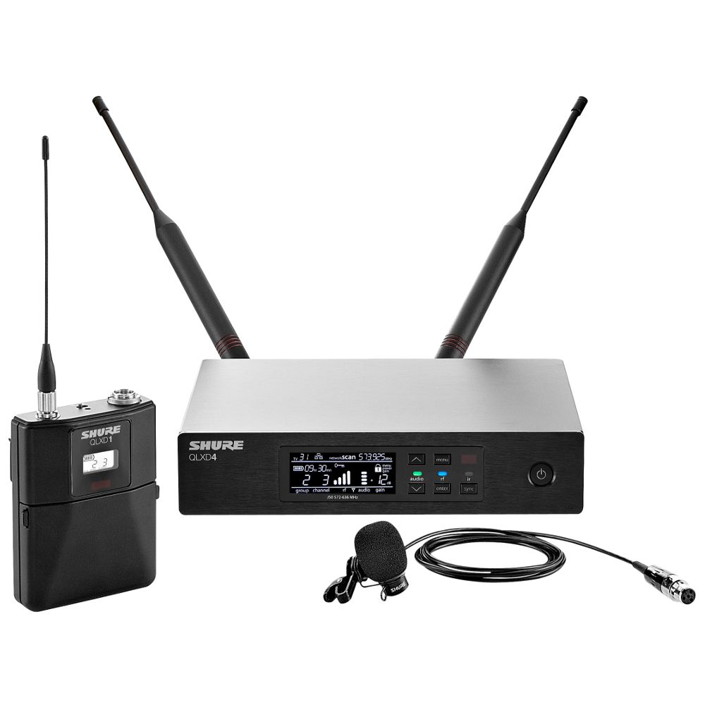 Shure Shure QLXD14/84 Lavalier Wireless Microphone System