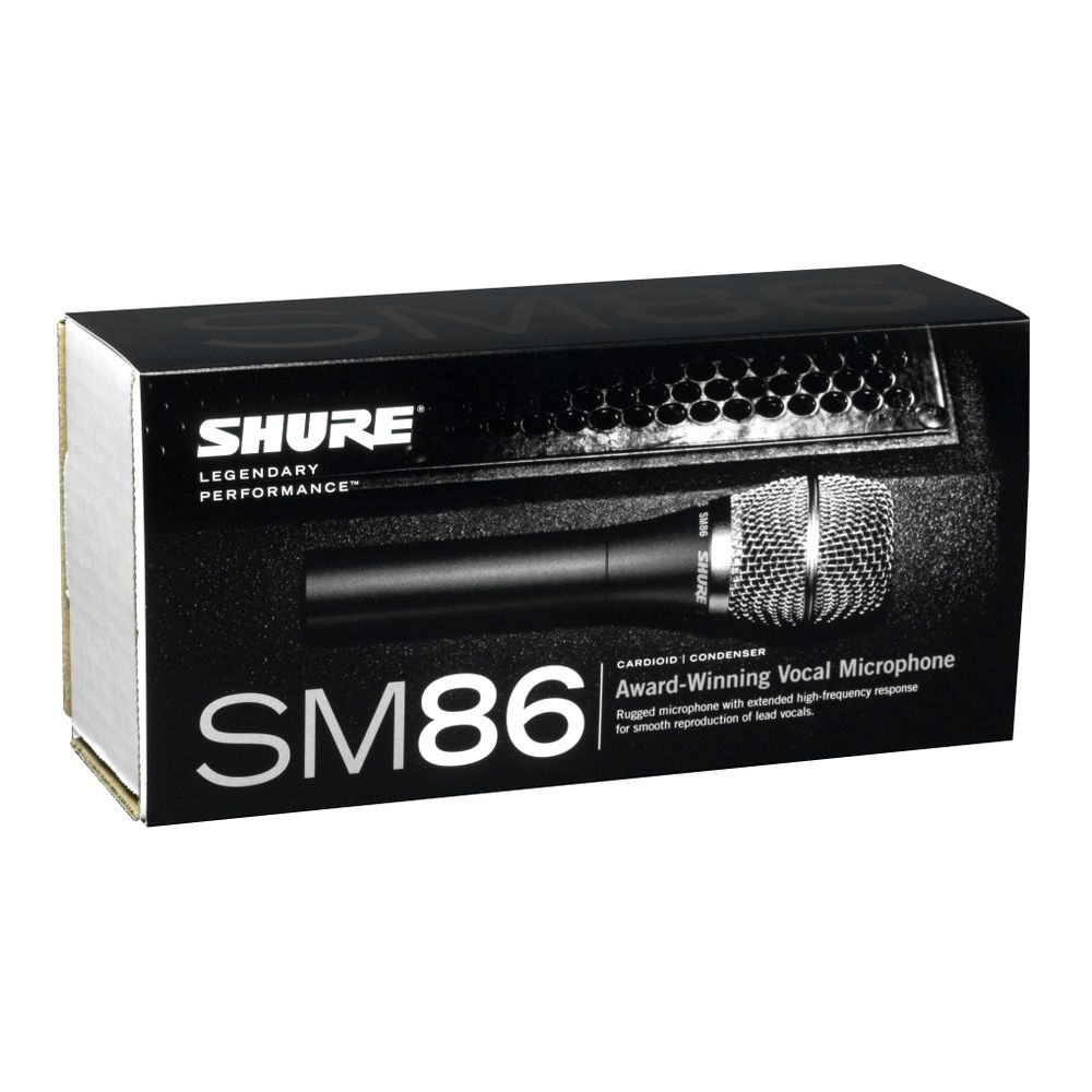 Shure Shure SM86 Cardioid Condenser Vocal Microphone