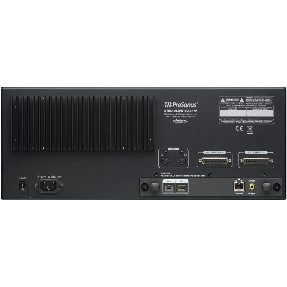 Presonus PreSonus StudioLive RM32AI Rackmount Digital Mixer