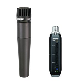 Shure Shure SM57+X2u USB Digital Microphone Bundle