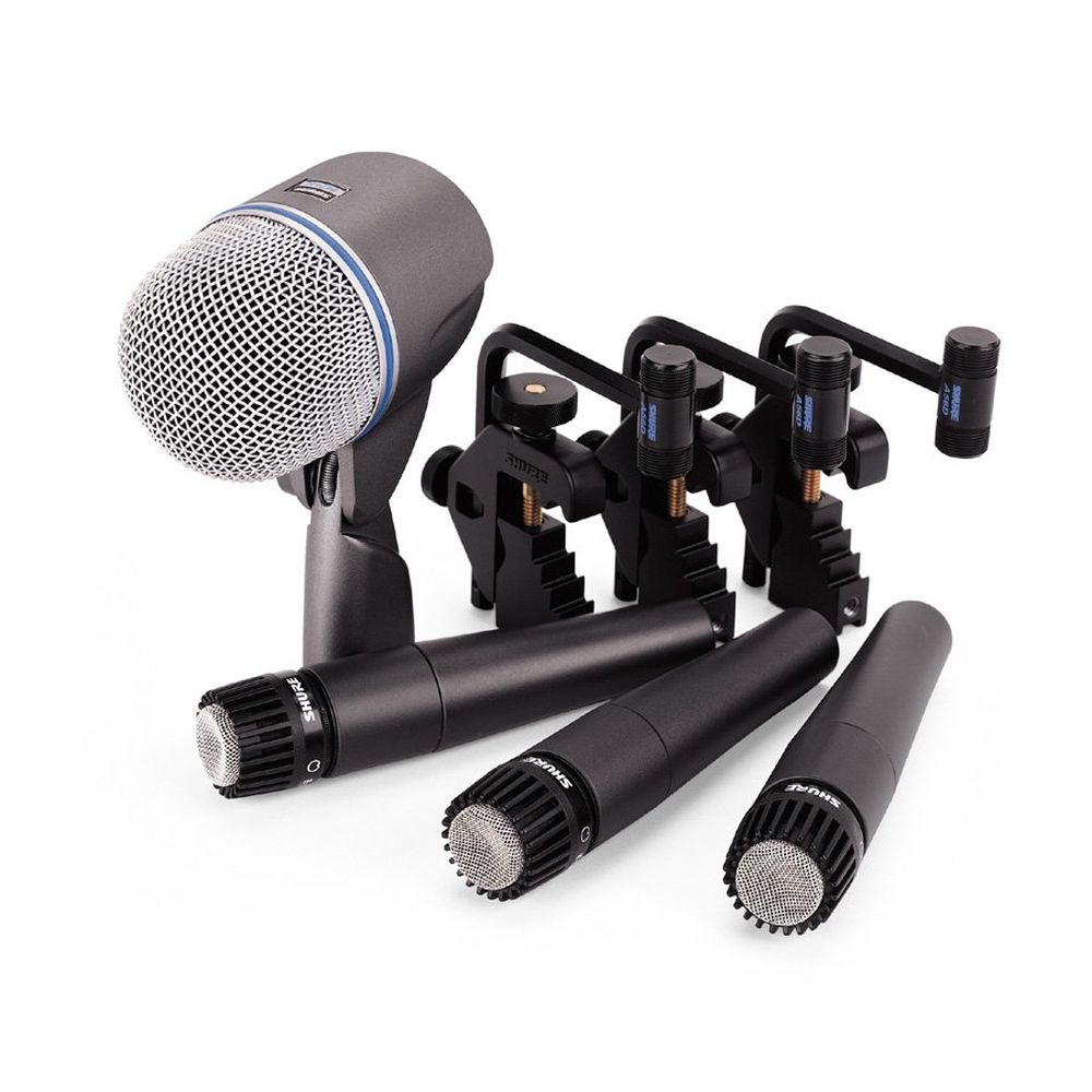 shure shure dmk57 52 drum microphone kit j sound services. Black Bedroom Furniture Sets. Home Design Ideas