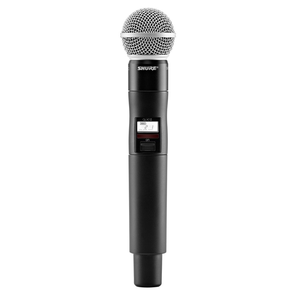 Shure Shure QLXD2/SM58 Handheld Wireless Microphone Transmitter