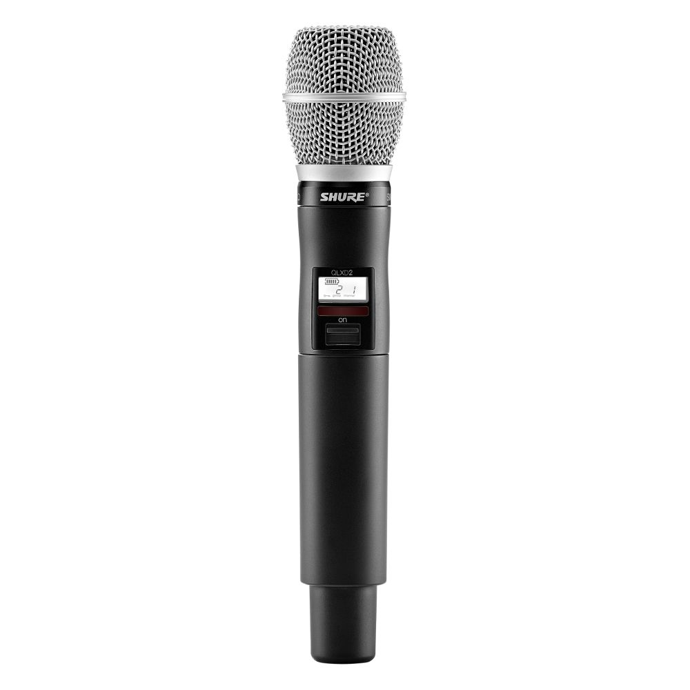 Shure Shure QLXD2/SM86 Handheld Wireless Microphone Transmitter