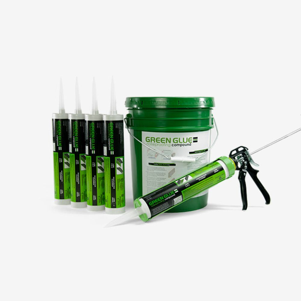 Green Glue Pail Application Gun