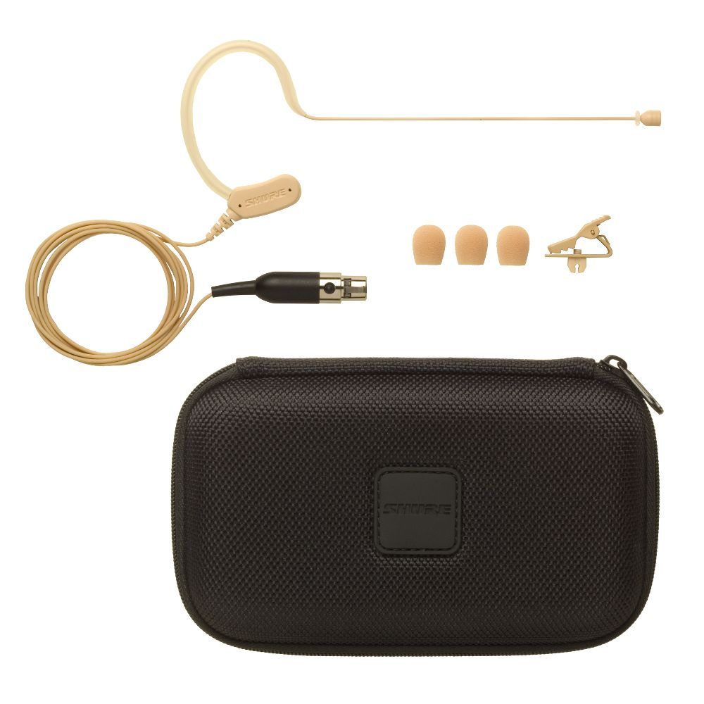 Shure Shure MX153T/O Earset Headworn Microphone - Tan