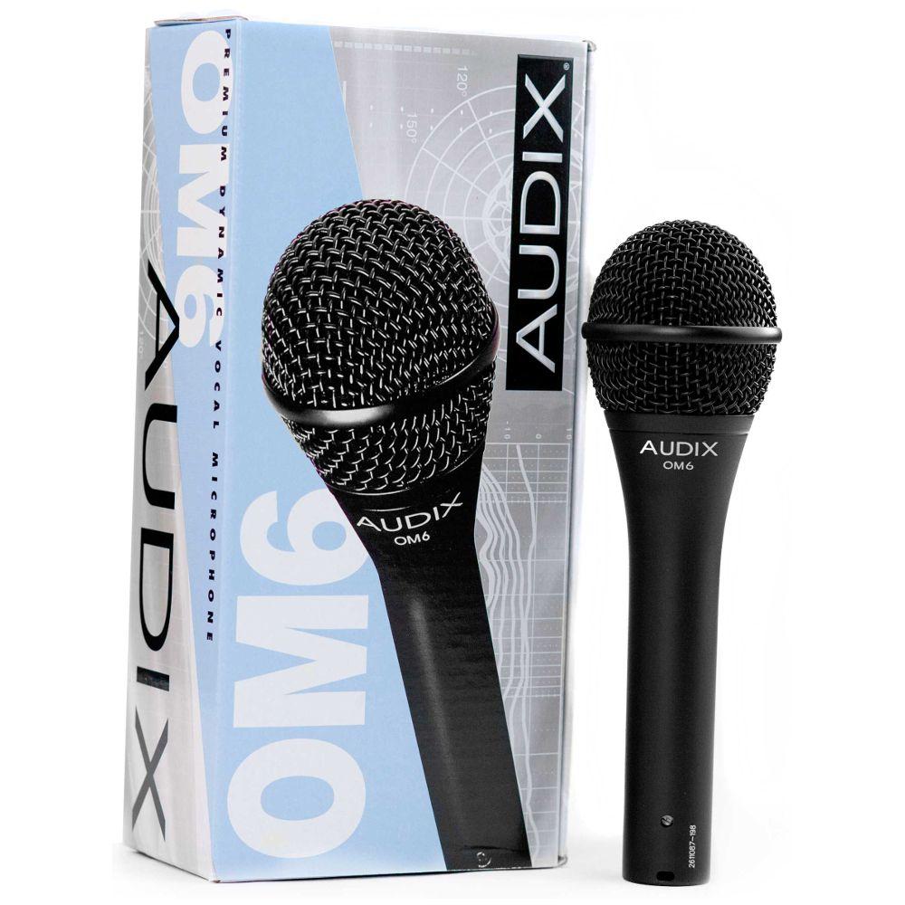 Audix Audix OM6 Dynamic Vocal Microphone