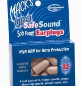 Mack's Mack's Ultra Soft Foam Ear Plugs - 60 Pairs, Beige