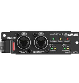 Mixer interface network cards j sound services for Yamaha dante card