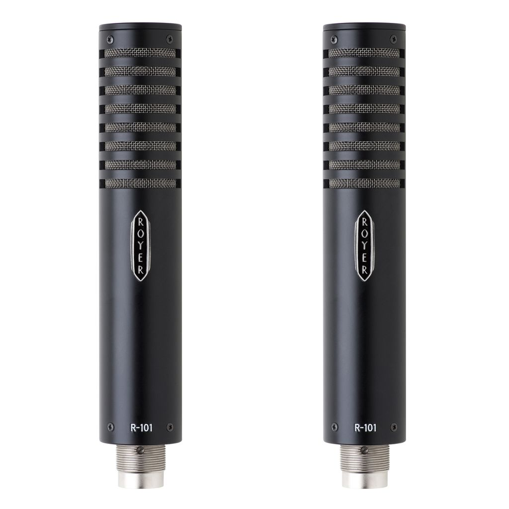 Royer Labs Royer R-101-MP Matched Pair Ribbon Microphones