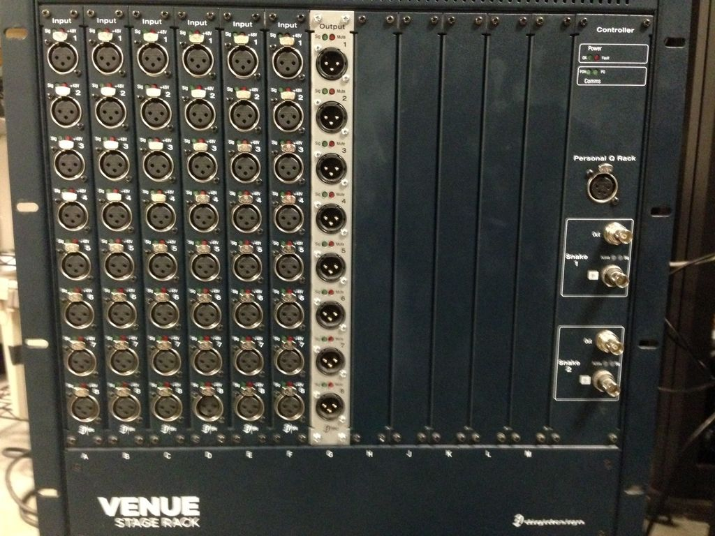 Avid Avid VENUE Stage Rack w/ I/O Cards and Digital Snake Card (Pre-Owned)