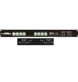 myMix myMix IEX16L-A Input Expander w/ ADAT In