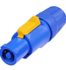 Neutrik Neutrik NAC3FCA powerCON Cable Connector, Blue