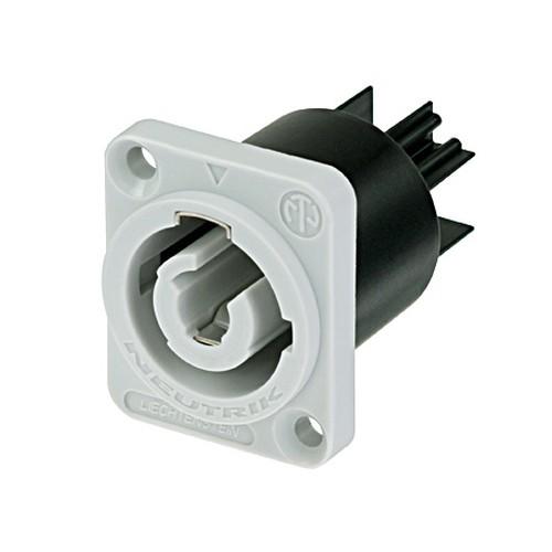 Neutrik Neutrik NAC3MPB-1 powerCON Chassis Connector, Grey