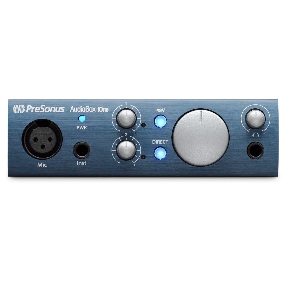 Presonus Presonus AudioBox iOne 2-in/2-out USB/iPad Audio Interface