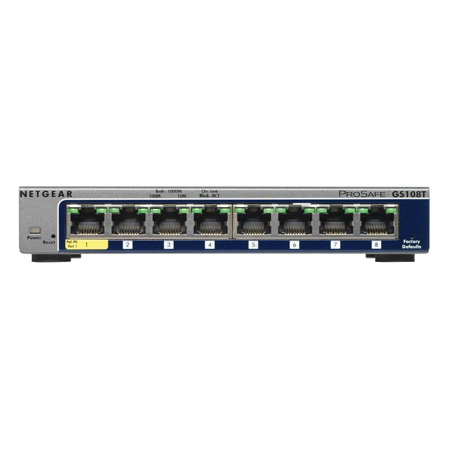 Shure myMix Multi8 8-port Managed Switch