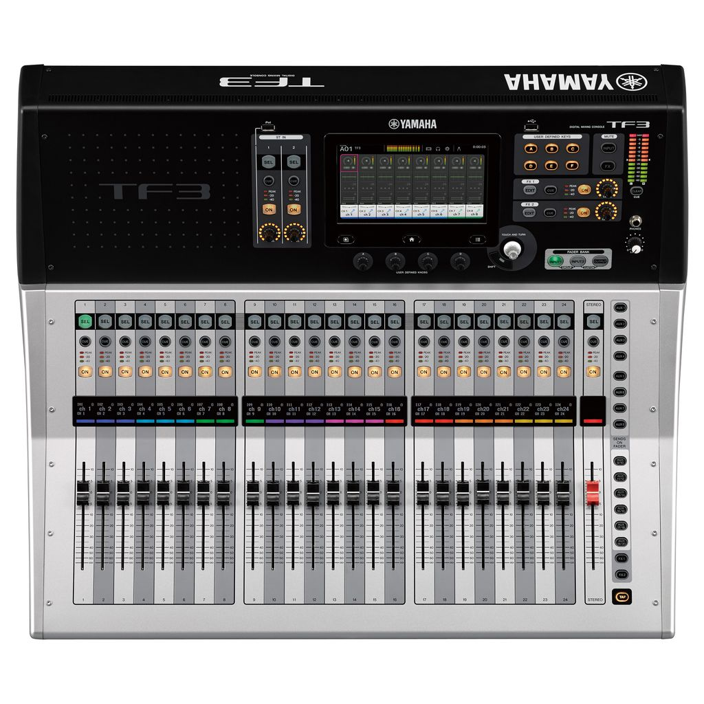 yamaha yamaha tf3 digital mixing console with touchflow operation j sound services. Black Bedroom Furniture Sets. Home Design Ideas