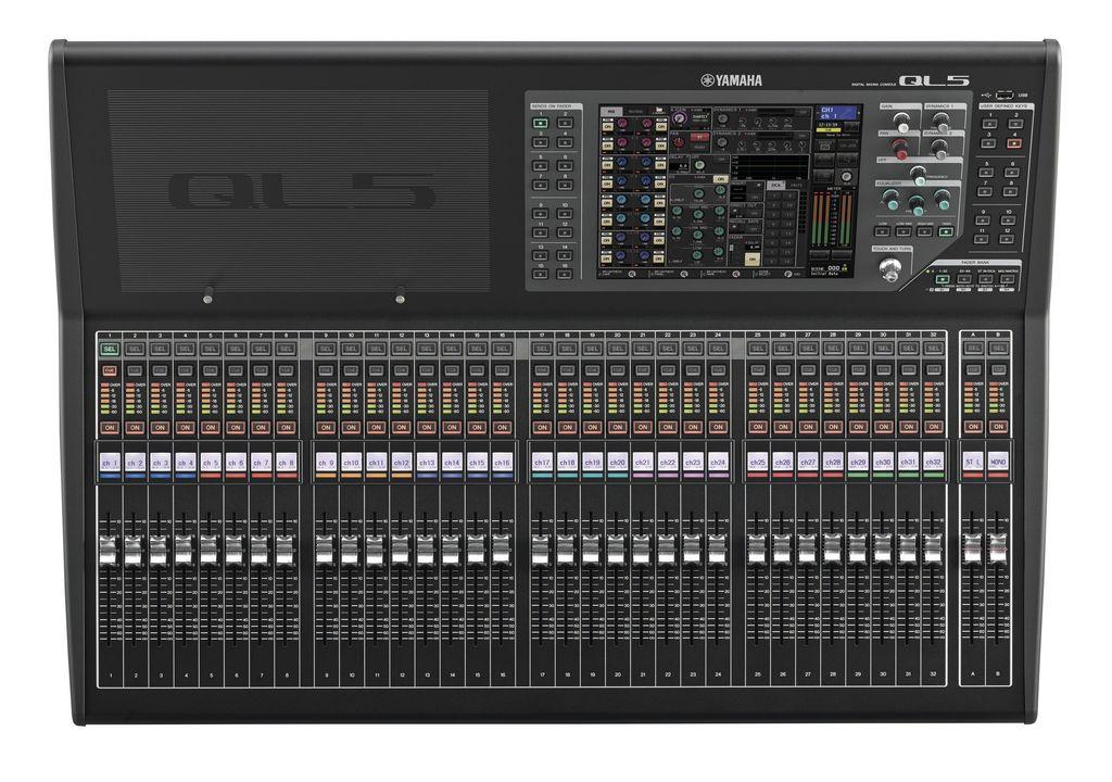 Yamaha yamaha ql5 digital mixing console j sound services for Yamaha sound console