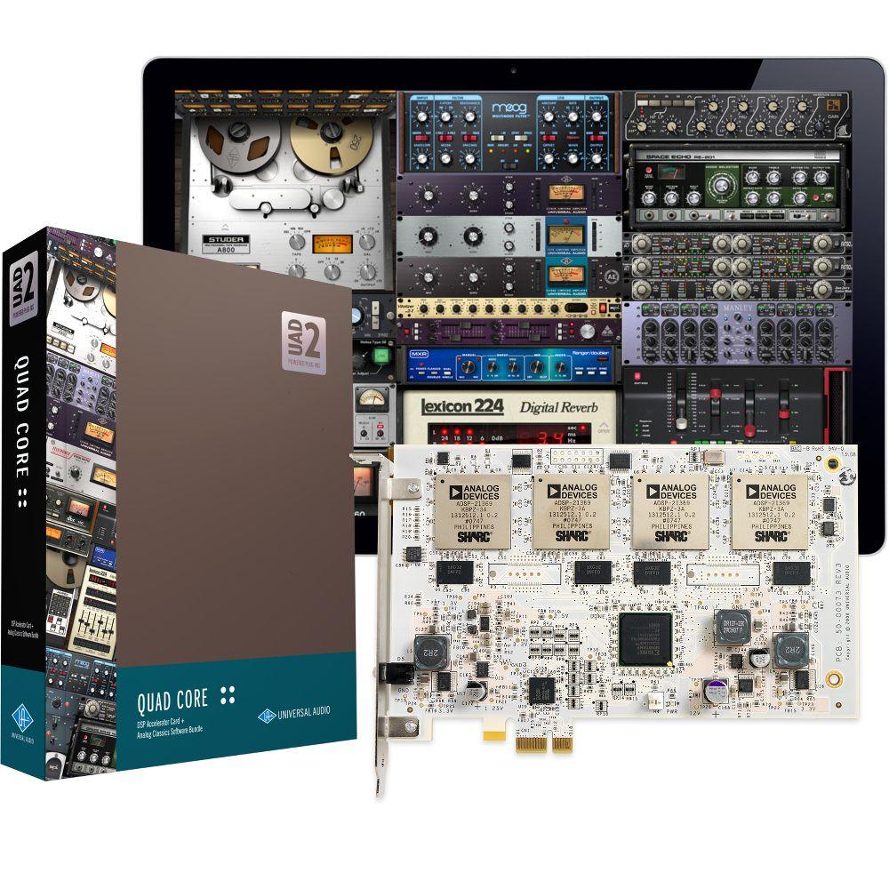 Universal Audio Universal Audio UAD-2 QUAD Core PCIe DSP Card