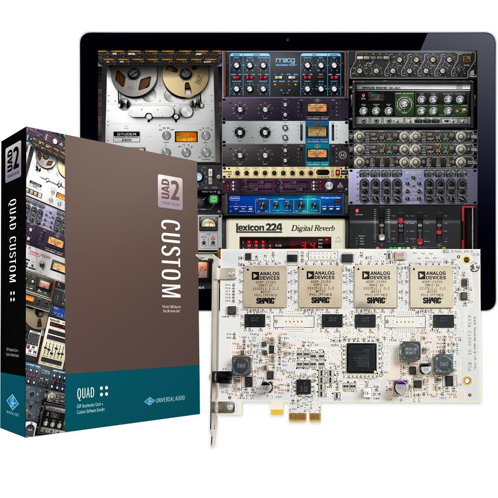 Universal Audio Universal Audio UAD-2 QUAD Custom PCIe DSP Card