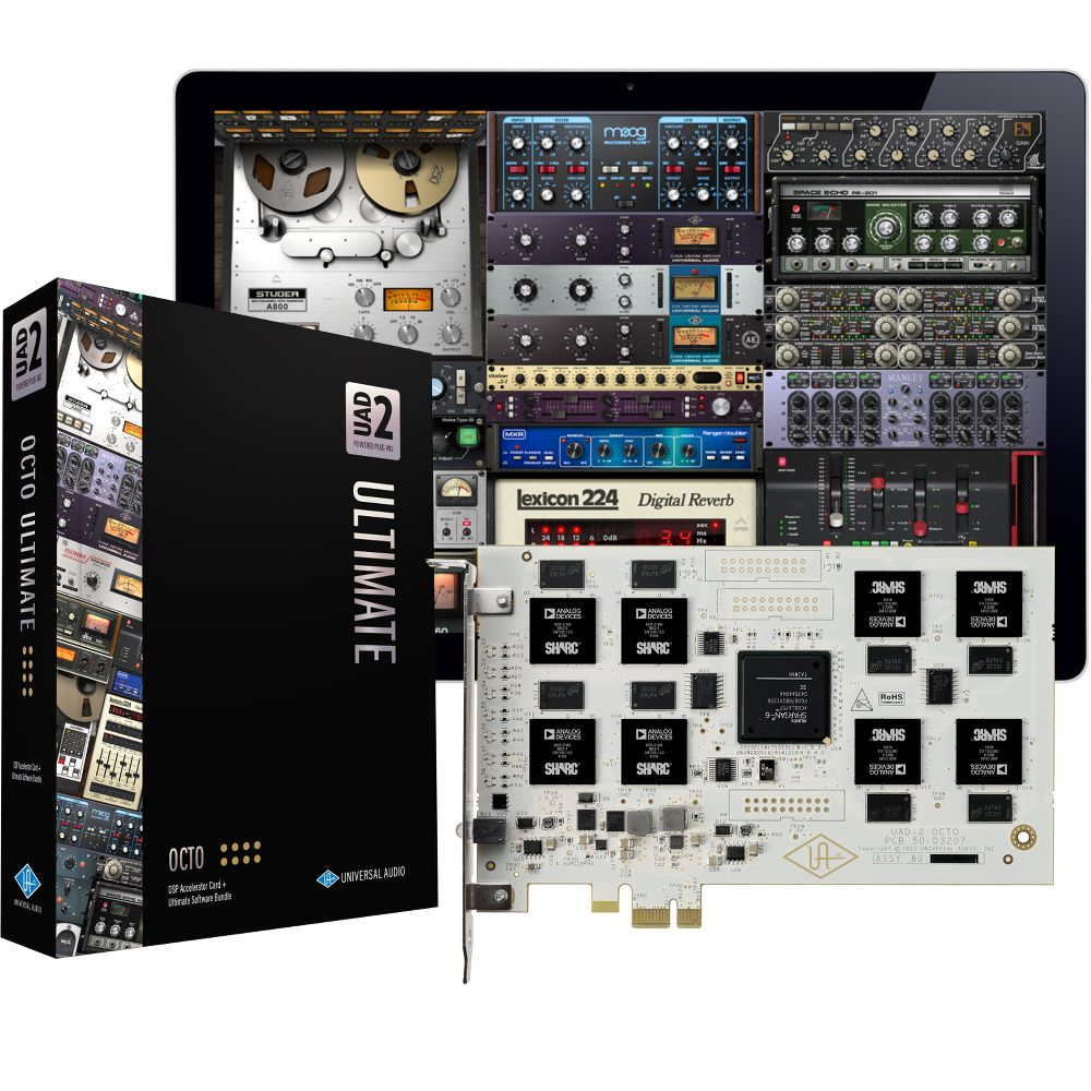 Universal Audio Universal Audio UAD-2 OCTO Ultimate 4 PCIe DSP Card