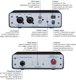 Rupert Neve Designs Rupert Neve RNHP Precision Headphone Amplifier