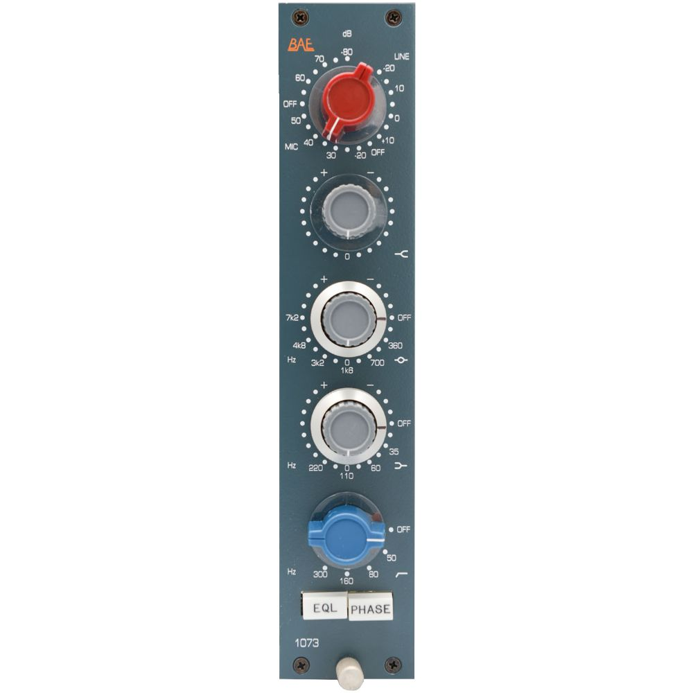 BAE BAE 1073 Channel Strip 10-Series Module