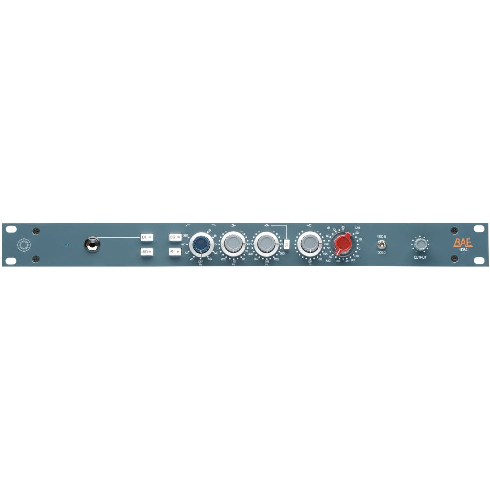"BAE BAE 1084 Channel Strip 19"" Rackmount w/out PSU"