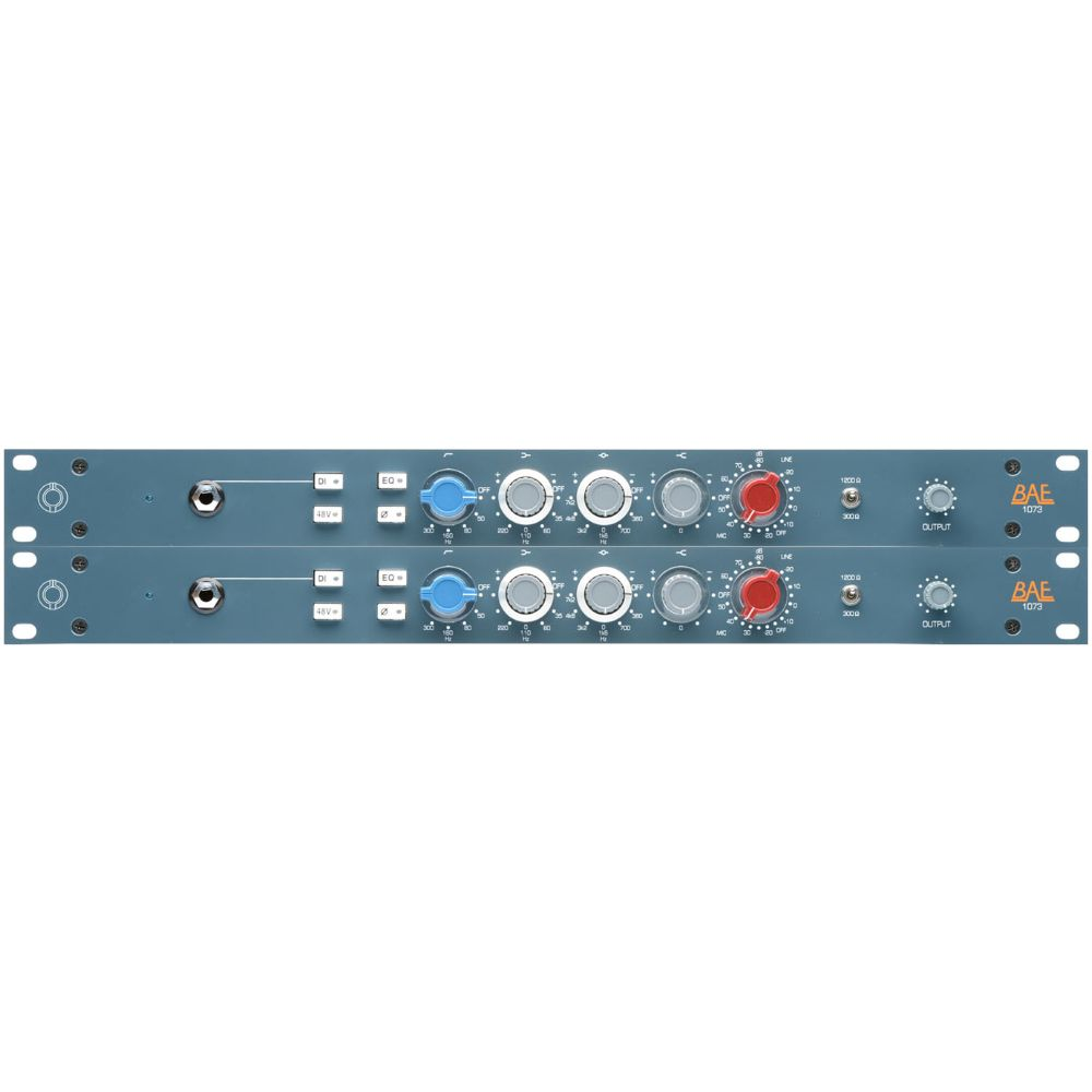 "BAE BAE 1073 Channel Strip 19"" Rackmount Pair w PSU"
