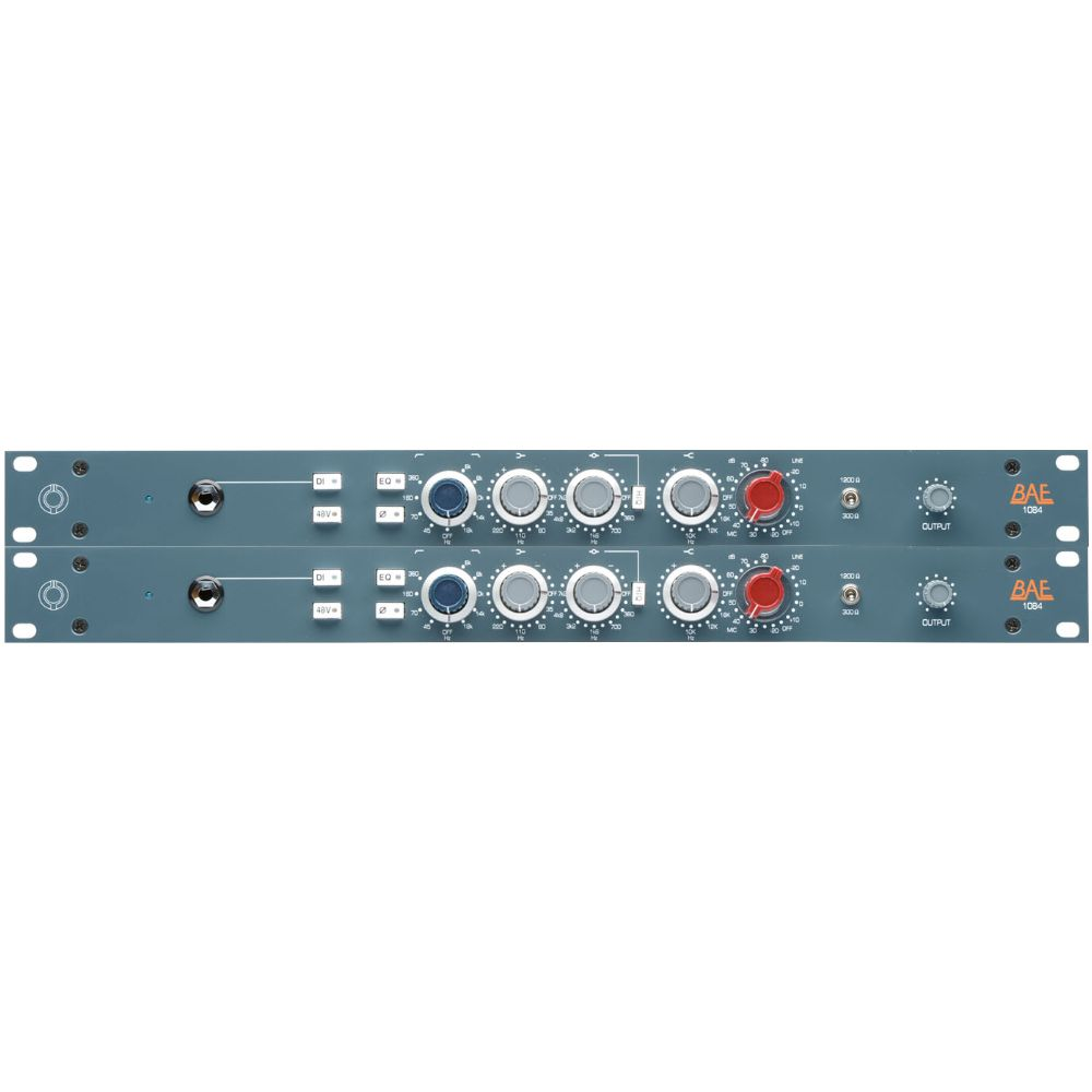 "BAE BAE 1084 Channel Strip 19"" Rackmount Pair w PSU"