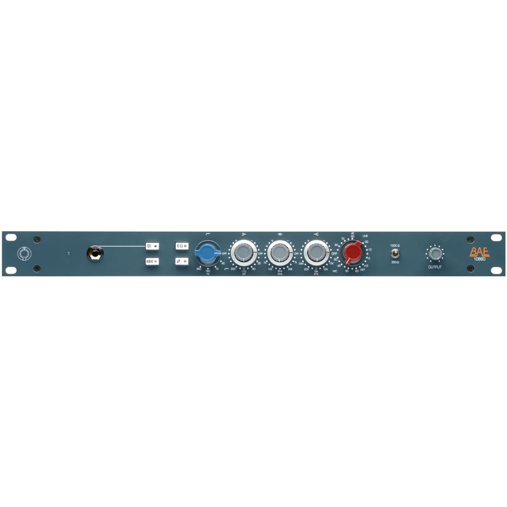 "BAE BAE 1066D Channel Strip 19"" Rackmount w/out PSU"