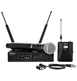 Shure Shure QLXD124/85 Handheld and Lavalier Combo Wireless Microphone System