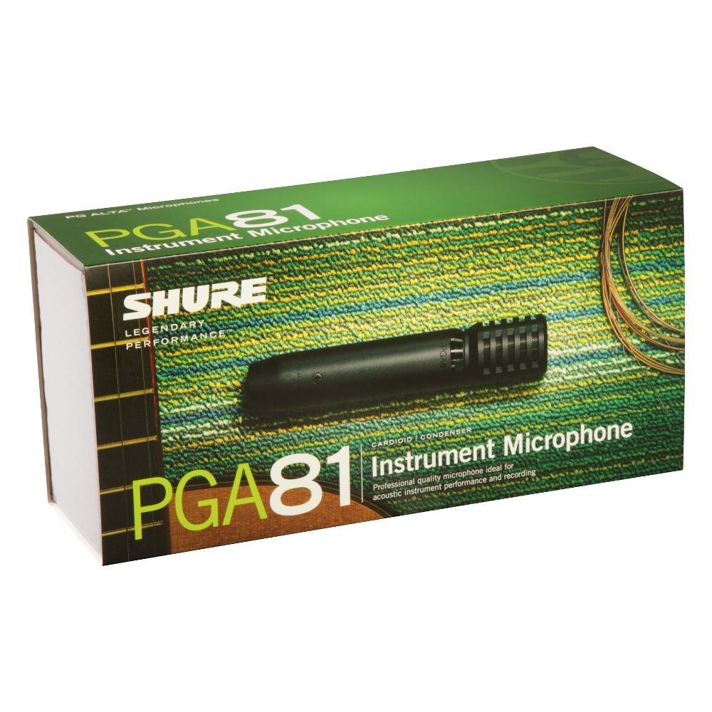 Shure Shure PGA81-LC Cardioid Condenser Instrument Microphone