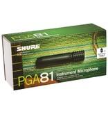 Shure Shure PGA81-XLR Cardioid Condenser Instrument Microphone