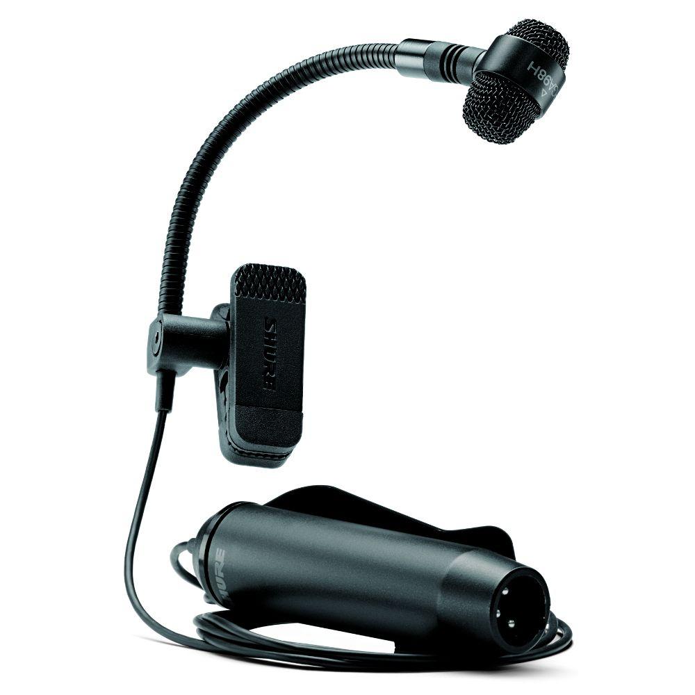 Shure Shure PGA98H-XLR Clip-On Cardioid Condenser Horn Microphone